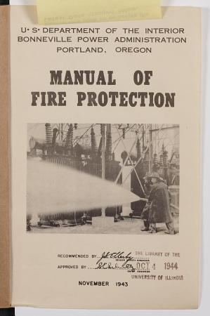 Manual of Fire Protection PDF