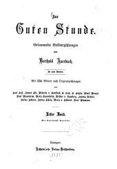 Zur Guten Stunde: Gesammelte Volkserzählungen, Band 1