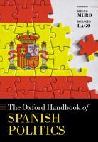 The Oxford Handbook of Spanish Politics PDF