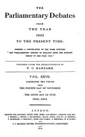 The Parliamentary Debates From The Year 1803 To The Present Time 04