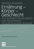 Ern  hrung     K  rper     Geschlecht PDF