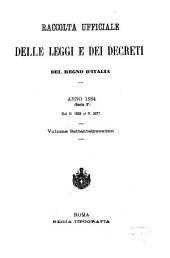 Raccolta ufficiale delle leggi e dei decreti del Regno d'Italia