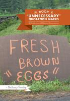 The Book of  Unnecessary  Quotation Marks PDF