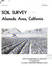 Soil survey, Alameda area, California