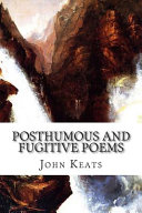 Posthumous and Fugitive Poems PDF