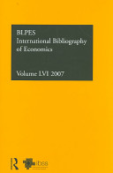 Economics 2007