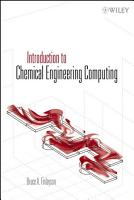 Introduction to Chemical Engineering Computing PDF