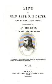 Life of Jean Paul F. Richter: Volume 2