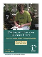 Perkins Activity and Resource Guide Chapter 1 -Teaching Children with Multiple Disabilities