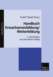 Handbuch Erwachsenenbildung/Weiterbildung: Ausgabe 2