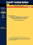 Outlines and Highlights for Landmarks in Humanities by Gloria K Fiero  Isbn PDF