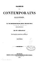 Galerie des contemporains illustres: Volume1