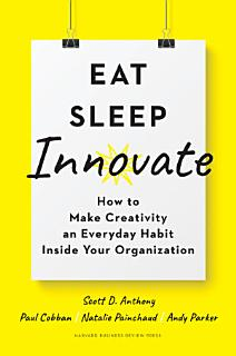 Eat  Sleep  Innovate Book