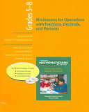 Minilessons for Operations with Fractions  Decimals  and Percents  Grades 5 8 PDF