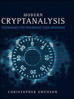 Modern Cryptanalysis PDF