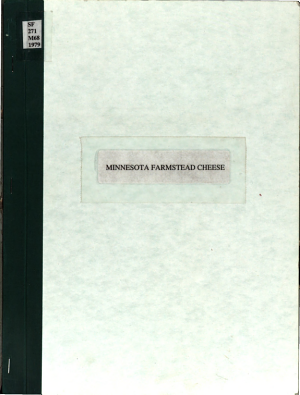 Minnesota farmstead cheese
