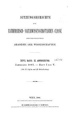 Sitzungsberichte der Mathematisch Naturwissenschaftlichen Classe der Kaiserlichen Akademie der Wissenschaften PDF