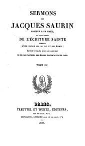Sermons sur divers textes de l'Ecriture sainte: Volume2