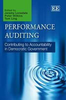 Performance Auditing PDF