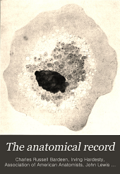 The Anatomical Record: Volume 6