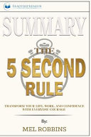 Summary of The 5 Second Rule PDF