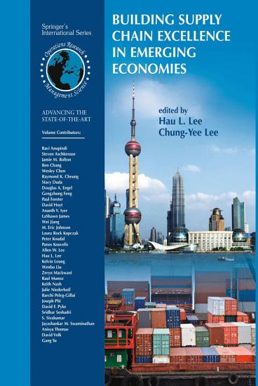 Building Supply Chain Excellence in Emerging Economies PDF