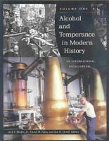 Alcohol and Temperance in Modern History PDF