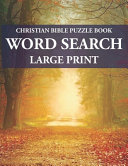 Christian Bible Puzzle Book Word Search PDF