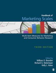 Handbook of Marketing Scales PDF