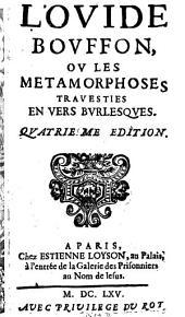 L' Ovide bouffon ou les Metamorphoses travesties en vers burlesques