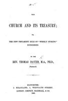 The Church and Its Treasury  Or  the New Testament Rule of    weekly Storing    Considered PDF