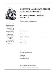 Cultural Landscape Report for Armory Square PDF
