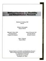 Directory of National Information Sources on Disabilities PDF