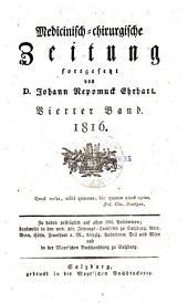 Medicinisch-chirurgische zeitung: Ausgabe 4