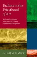 Brahms in the Priesthood of Art PDF