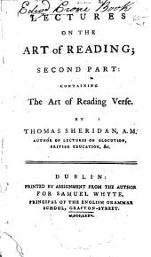 Lectures on the Art of Reading ...