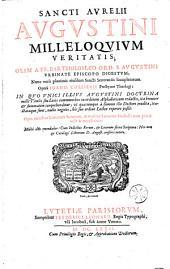 D. Aurelii Augustini Milleloquium veritatis... opera Jo. Collierii...