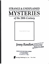 Strange   Unexplained Mysteries of the 20th Century PDF