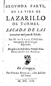Vida de Lazarillo de Tormes: Volumen 2