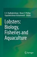 Lobsters  Biology  Fisheries and Aquaculture PDF