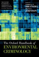 The Oxford Handbook of Environmental Criminology PDF