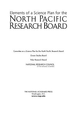 Elements of a Science Plan for the North Pacific Research Board PDF