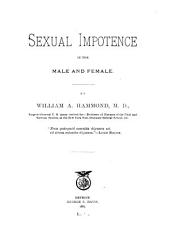 Sexual Impotence in the Male and Female