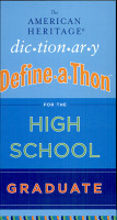 The American Heritage Dictionary Define a Thon for the High SchoolGraduate PDF
