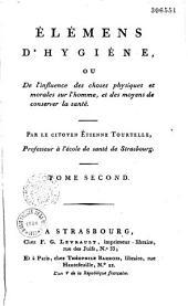 Elémens d'hygiène, par Etienne Tourtelle
