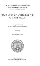 Fumigation of Apples for the San Jose Scale