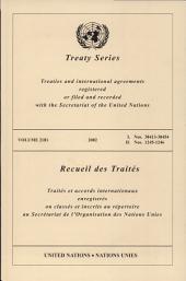 Treaty Series 2181 I:38412-38454 Ii: 1245-1246