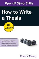 EBOOK: How to Write a Thesis
