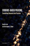 Evidence-Based Policing
