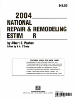 2004 National Repair   Remodeling Estimator PDF